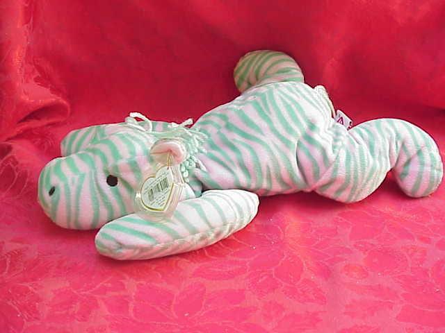 New Ty Zulu The Zebra Pillow Pal