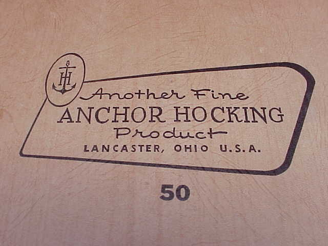 Fire King Anchor Hocking Milk Glass Relish Dish In Original Box