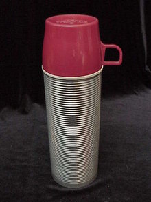 Vintage King Seeley Aluminium Thermos