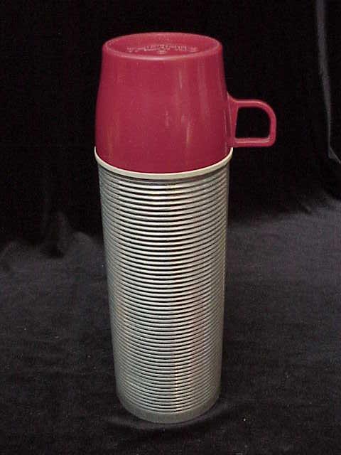 Vintage King Seeley Aluminium Thermos
