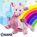 New  Webkinz Whimsy The Dragon With Sealed Tag & Unused Code