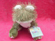 New Webkinz Green Frog With Sealed Tag & Secret Code
