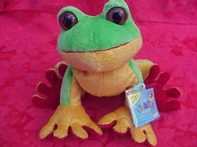New Tree Frog Webkinz  With Sealed Tag & Unused Secret Code