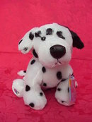 Webkinz Retired Dalmatian Dog With Sealed Tag & Unused Secret Code
