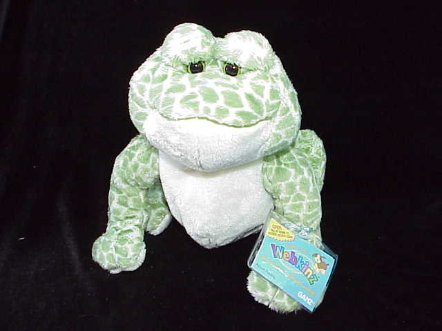 New Spotted Frog Webkinz With Sealed Tag & Unused Secret Code