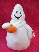 Ty Pluffies  Shudder The Halloween Ghost   Pluffie Plush