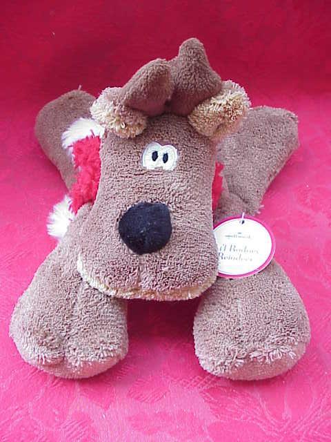 Hallmark 2007 LIL RODNEY REINDEER PLUSH Christmas Reindeer
