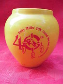 Olympian Billy Mill's 10K Gold Medal Anniversary Vase  Indian Design