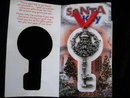 Santa Claus Key *  Santas Santa's Magic Key * No Chimney