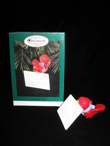 Hallmark 1991 Airmail For Santa Collector's Club Christmas Tree Ornament