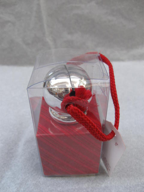 Hallmark 2007 Christmas Sleigh Bell Wine Stopper In Original Box
