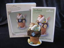 Hallmark 2005 Spring's Peaceful Promise Bastin Christmas Tree Ornament
