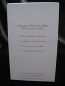 Hallmark 2007   GRUMPY BEFORE COFFEE Walt Disney Snow White Coffee Lover Christmas Tree Ornament