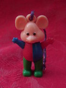 Vintage Rubic Mouse Puzzle Toy For Key Chain