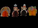 (9) Nine Thanksgiving Paper  Decorations - Beistle Banners &  4 Honeycomb + More