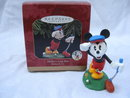 Hallmark 1997 Mickey's Long Shot Mickey & Co.  Christmas Tree Golf Golfing  Ornament