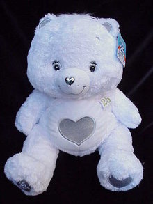 Limited  Edition 25th Anniversary Silver Tenderheart Care Bear Swarovski Crystal 13
