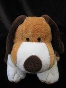 Baby Ty  Ty Pluffies Whiffer The Spotted Beagle Dog