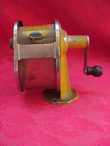 Vintage Apsco Midget Automatic Pencil Sharpener