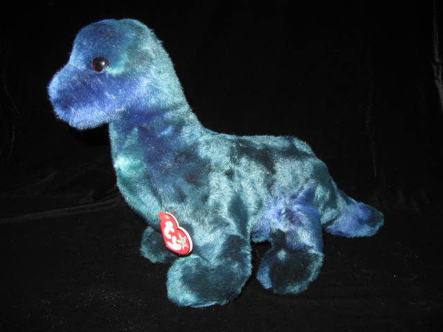 Ty Bronty The Brontosaurus Dinosaur Beanie Buddy