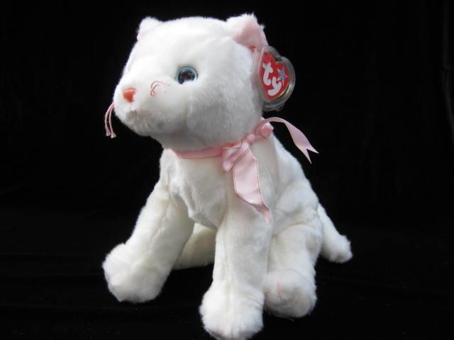 Ty Flip The White Cat Beanie Buddy