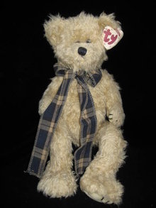 New Retired Ty Bearington The Jointed Teddy Bear Attic Treasure
