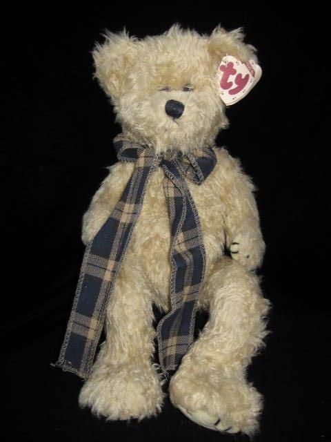 New Retired Ty Bearington The Jointed Teddy Bear Attic Treasure