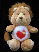 Vintage Brave Heart Lion Care Bear Coursin Care Bears Lion