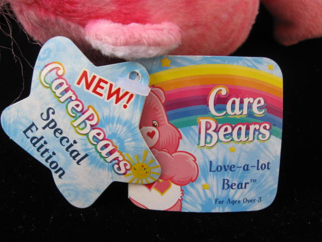 Love A Lot Tie Dye Care Bear Care Bear Plush 8