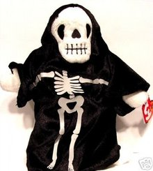 Ty Creepers the Skeleton Retired Beanie Baby