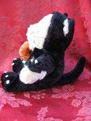 Starbucks Bearista Halloween Bear Black Cat 2002 Plush