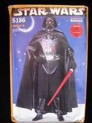 Butterick 5186  Star Wars Darth Vader Men's Halloween Costume Sewing Pattern