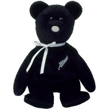 Ty FERNY  Beanie Baby New Zealand Exclusive Asian Pacific Bear