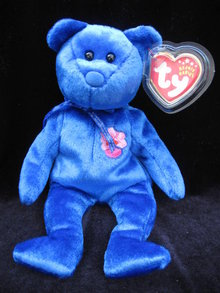 Ty VANDA  Singapore Exclusive  Beanie Baby Asian Pacific Bear