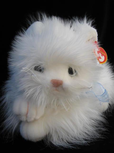 Ty Classic SUGAR The White Cat Plush