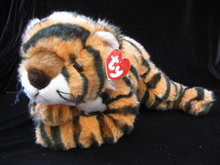 Ty Retired Classic Growl The Tiger Cub Plush