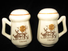 Colorado  Souvenir Deer Salt & Pepper Shakers