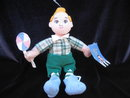 The Wizard Of OZ Lollipop Boy  Warner Brothers Plush Beanie  Doll
