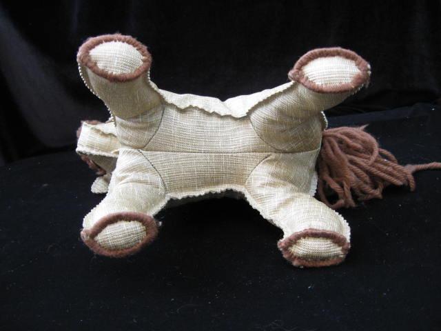 Vintage Hand Made Linoleum Horse or Pony