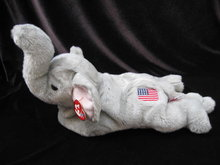 New  Righty The Republican Flag Elephant Beanie Buddy