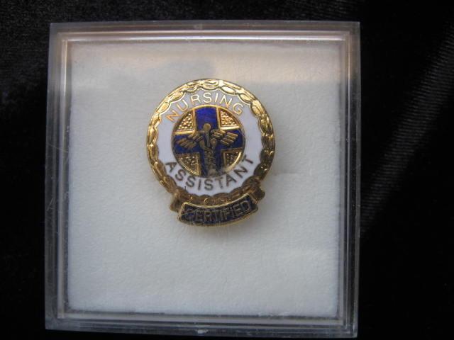 Certified Nursing Assistant Caduceus Pin