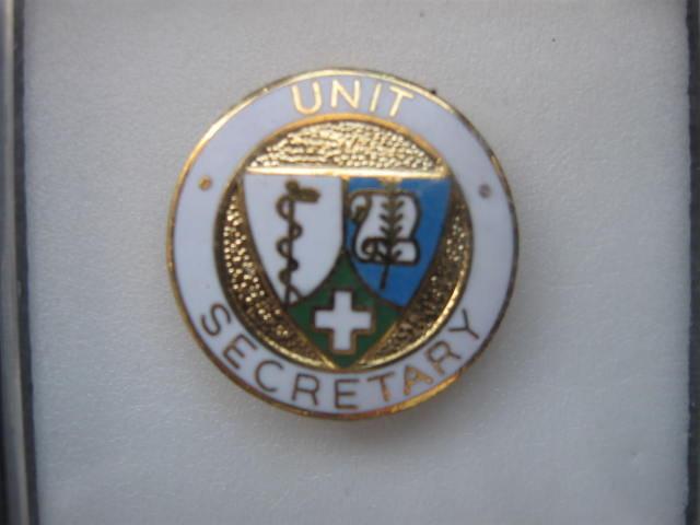Unit Secretary  Nursing  Caduceus Pin