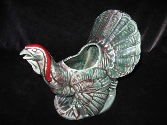 Vintage Thanksgiving TURKEY  Planter