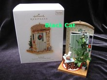 Hallmark 2009 Ireland Doorways Around The World #3 Christmas Tree Ornament