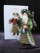 Hallmark 2009 Father Christmas 6th In Series Christmas Tree Ornament