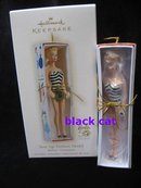 Hallmark 2009  Teenage Teen Age Fashion Model Barbie Swimsuit Christmas Ornament