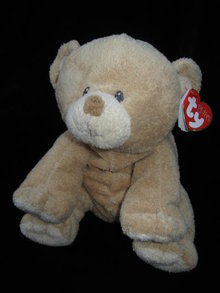 Ty Pluffies Woods The Tan Teddy Bear Plush