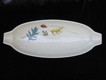 Vintage Franciscan Autumn Leaf  Relish Bowl  or Tray