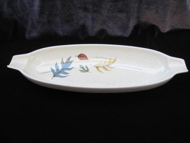 Vintage Franciscan Autumn Leaf  Relish Bowl  or Tray