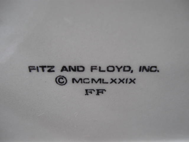 Vintage Fitz & Floyd   Anthropomorphic  3D    3 D Dimensional Stinky Onion Planter